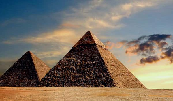 Cómo se construyeron pirámides en Egipto