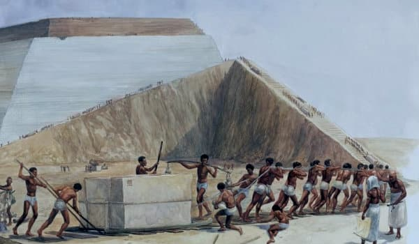 pirámides Egipto construcción
