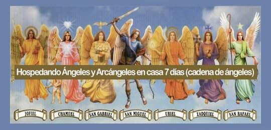 Hospedando ángeles y arcángeles