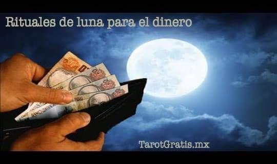 Rituales luna dinero